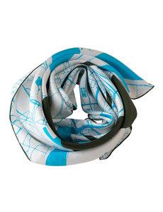 Silk scarf - Antwerp