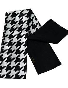Bufanda de seda de doble capa