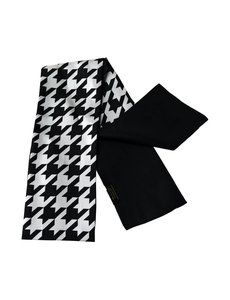 Dubbellaagse zijden sjaal