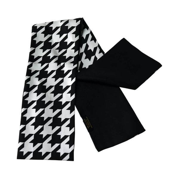 Bufanda de seda de doble capa 100% seda
