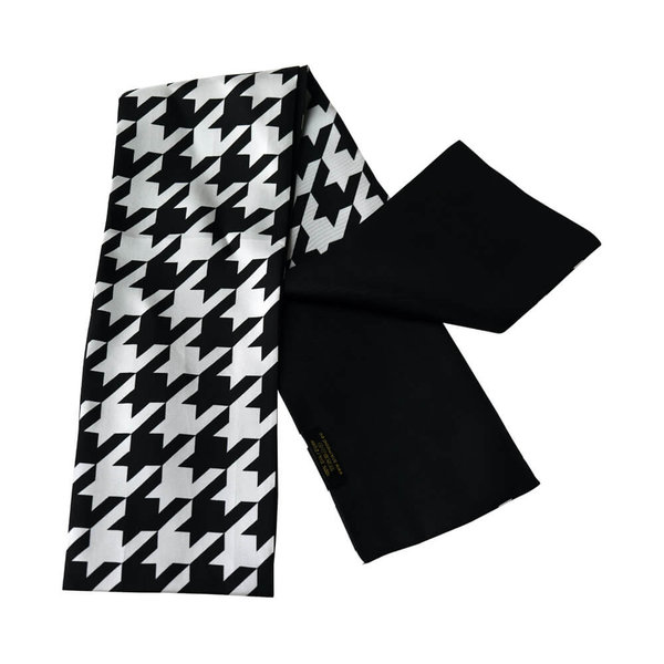 Dubbellaagse zijden sjaal - 100% zijde