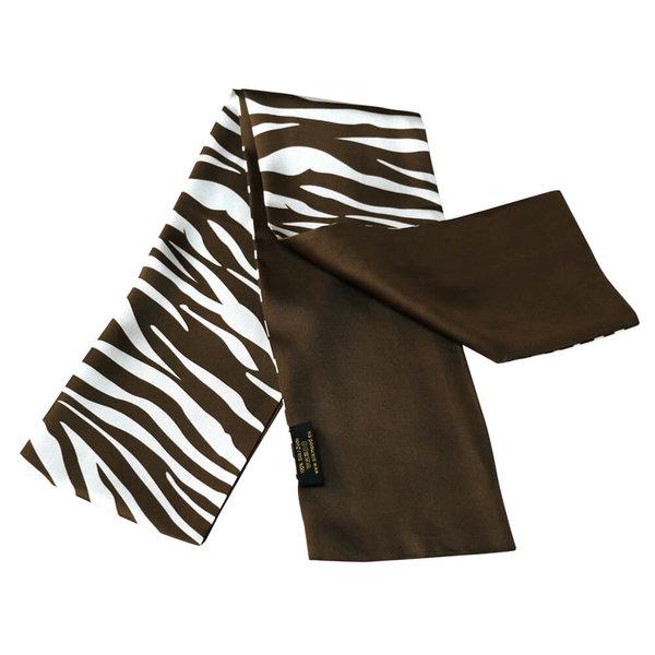 Double layer silk scarf 100% silk