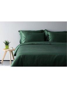Silk flat sheet 19mm forest green