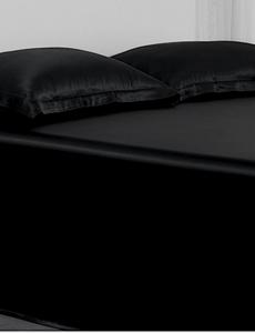 Sábana de seda 22mm negro