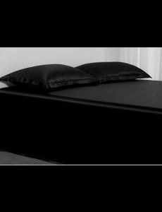 Drap en soie 22mm noir