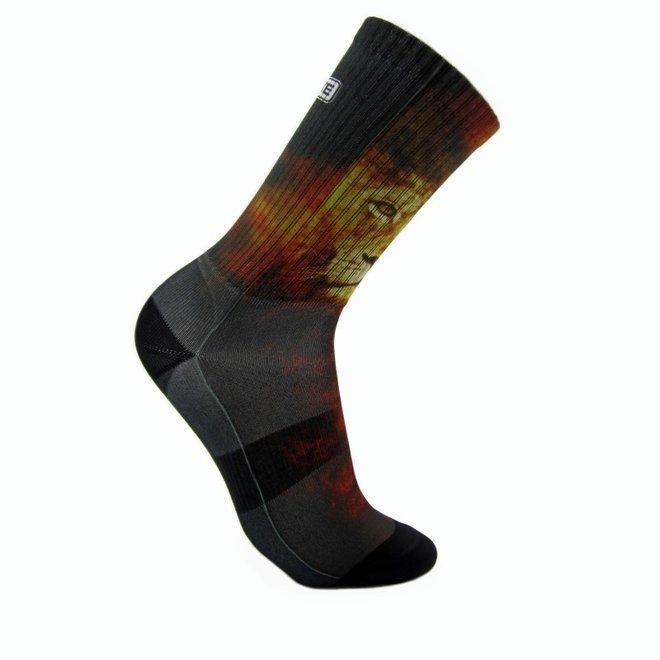 Elite Lion print urban sokken