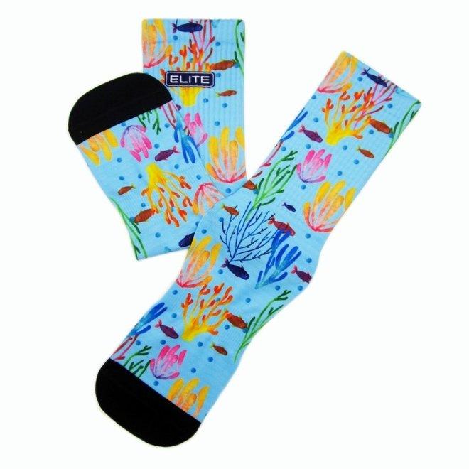Elite Sea print urban sokken