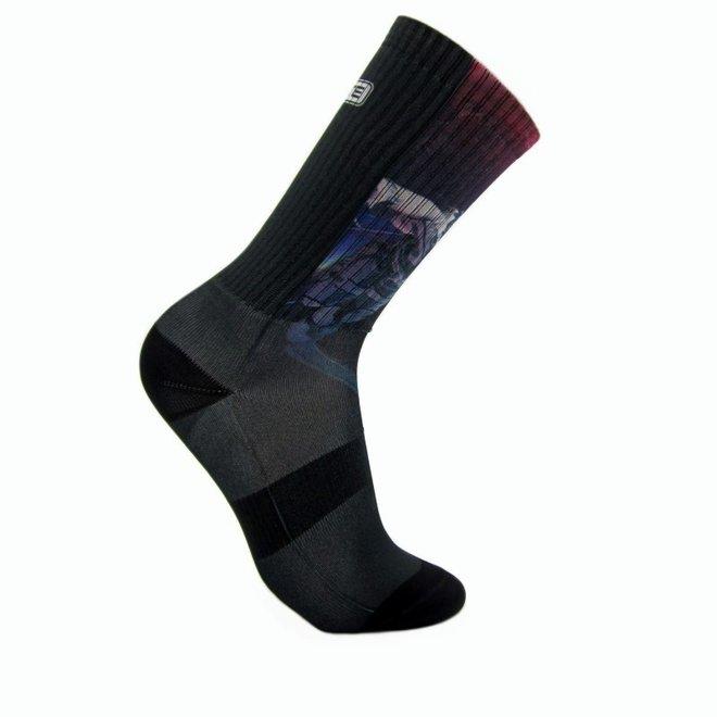 Elite Out of space print urban sokken