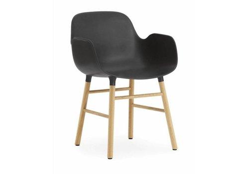 Normann Copenhagen Form armchair eik