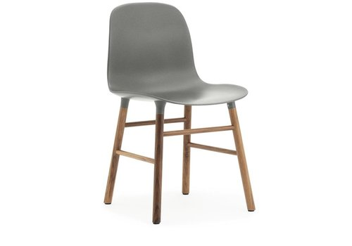 Normann Copenhagen Form chair stoel walnoot