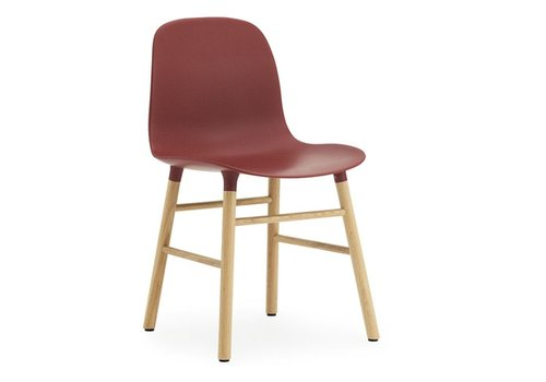 Normann Copenhagen Form chaise chêne