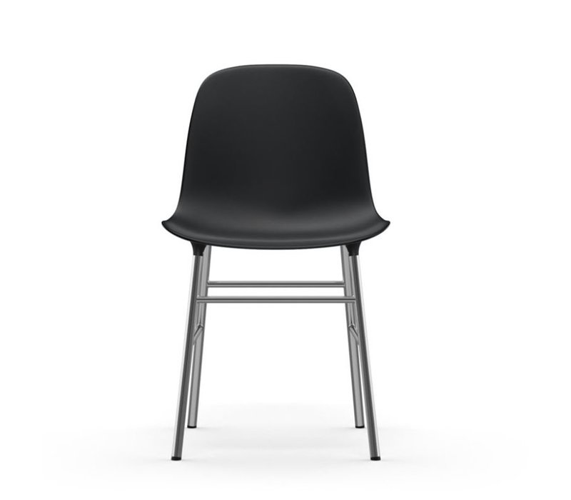 Form stoel chroom
