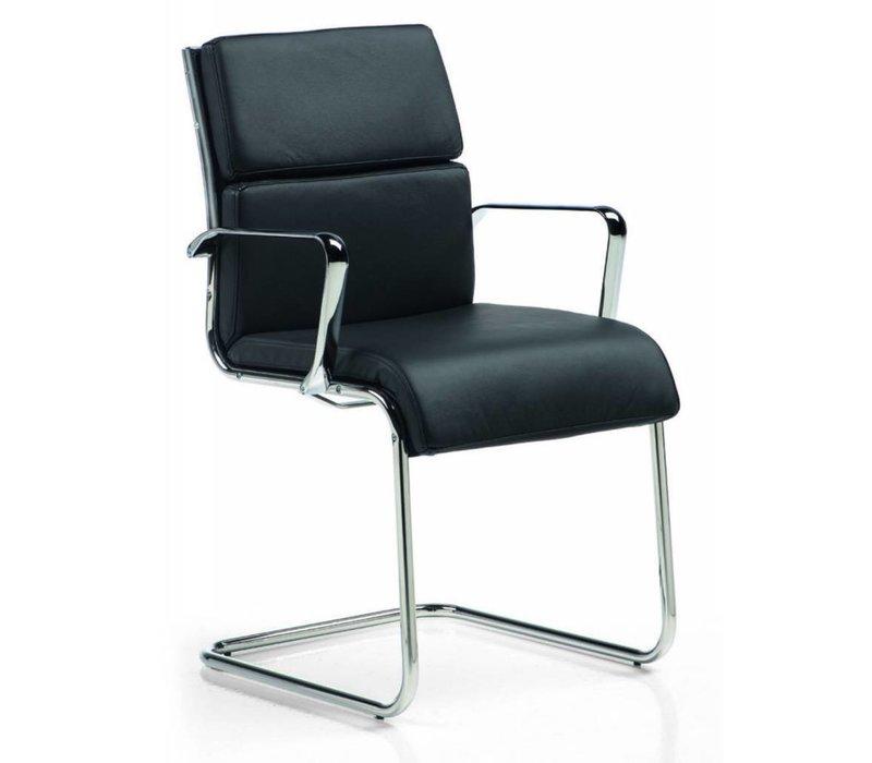 Isis fauteuil visiteur en cuir
