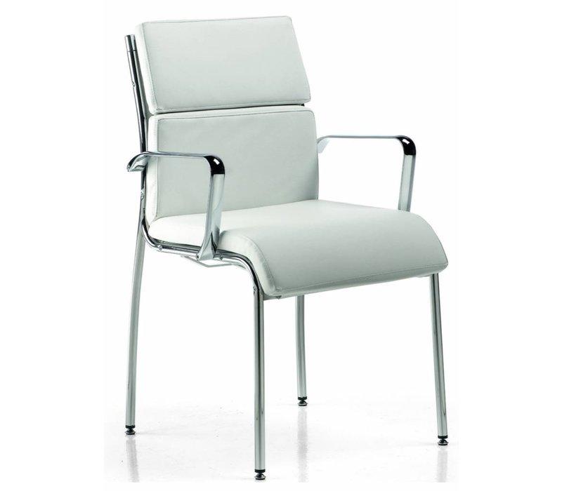 Isis fauteuil de réunion en cuir
