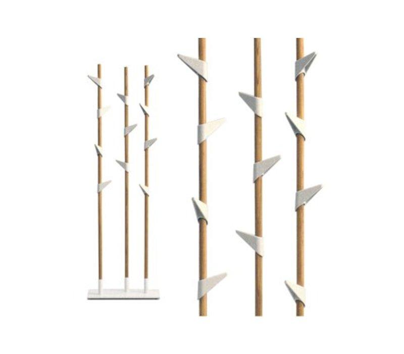 Bamboo 3 Porte-Manteau