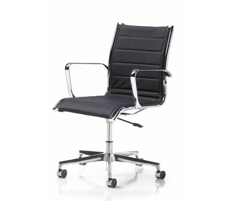 Elliot chaise de conférence cuir