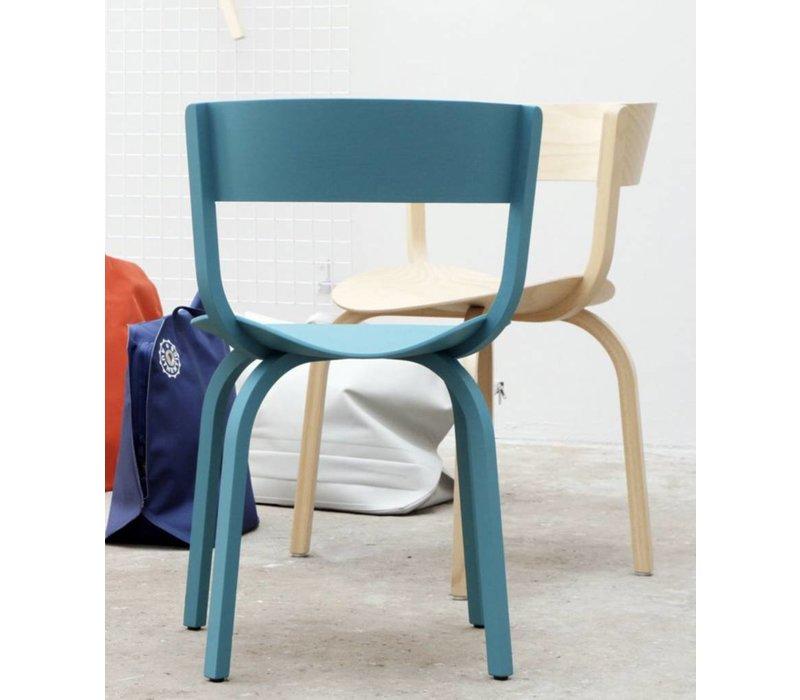 404 F houten stoel