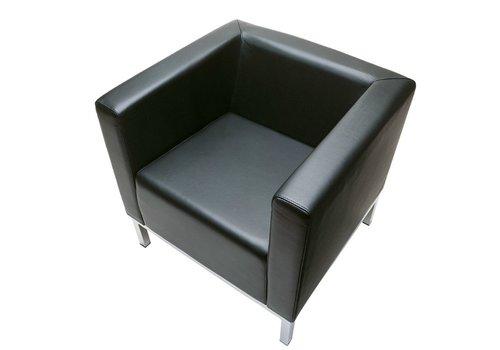 Lamm Polo fauteuil leder