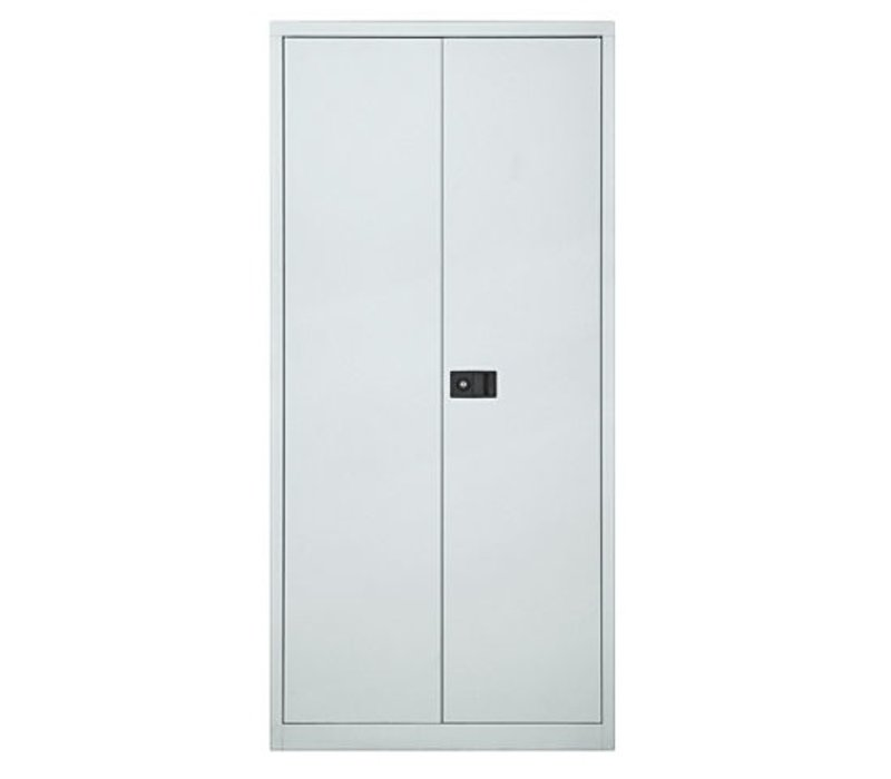 Metalen kast hoog met deuren - 195cm