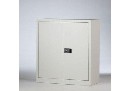 Bisley Metalen kast met deuren laag - 100cm