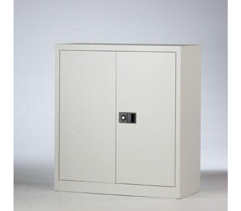 Metalen kast met deuren laag - 100cm