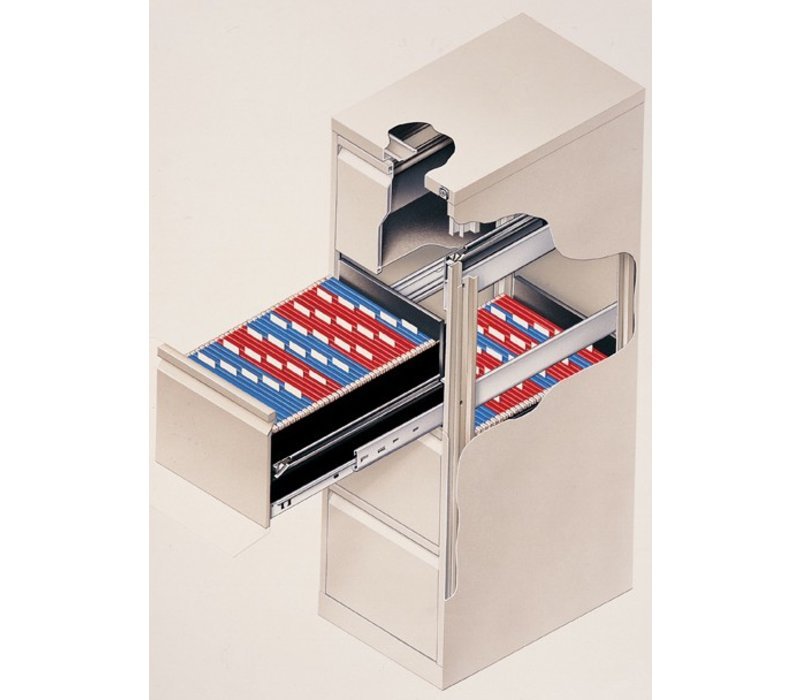 Armoire à rangement suspendu - A4 - 4 tiroirs
