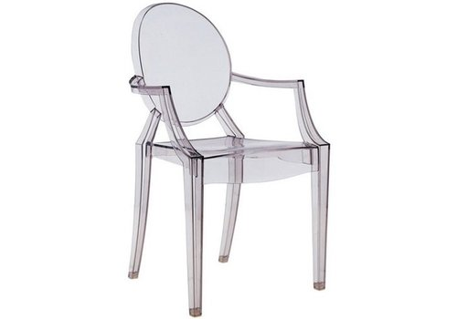 Kartell Louis Ghost chaise en transparent