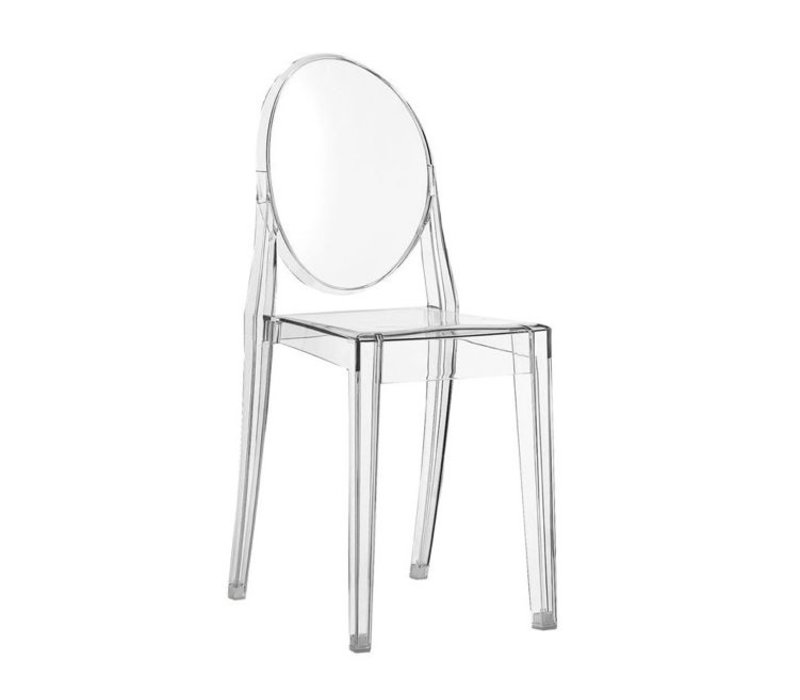 Victoria Ghost chaise transparent en Kartell f7vY6ybg