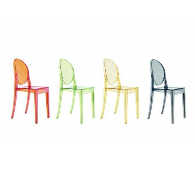 Victoria Ghost chaise en transparent