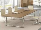 Loopy table de réunion en placage