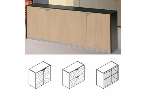 Bralco A100 armoire Basse en mélamine