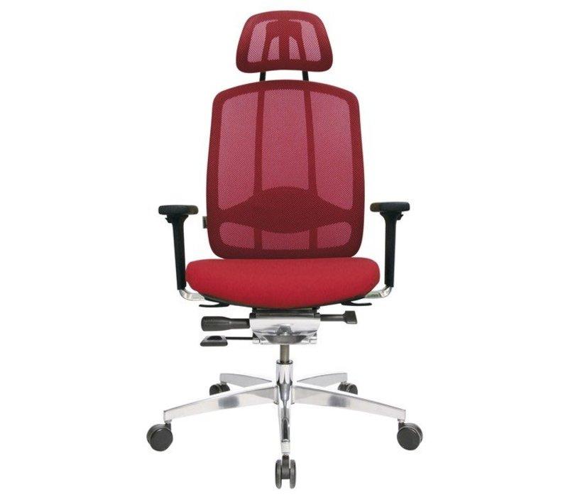 AluMedic 10 fauteuil de bureau avec appui-tête
