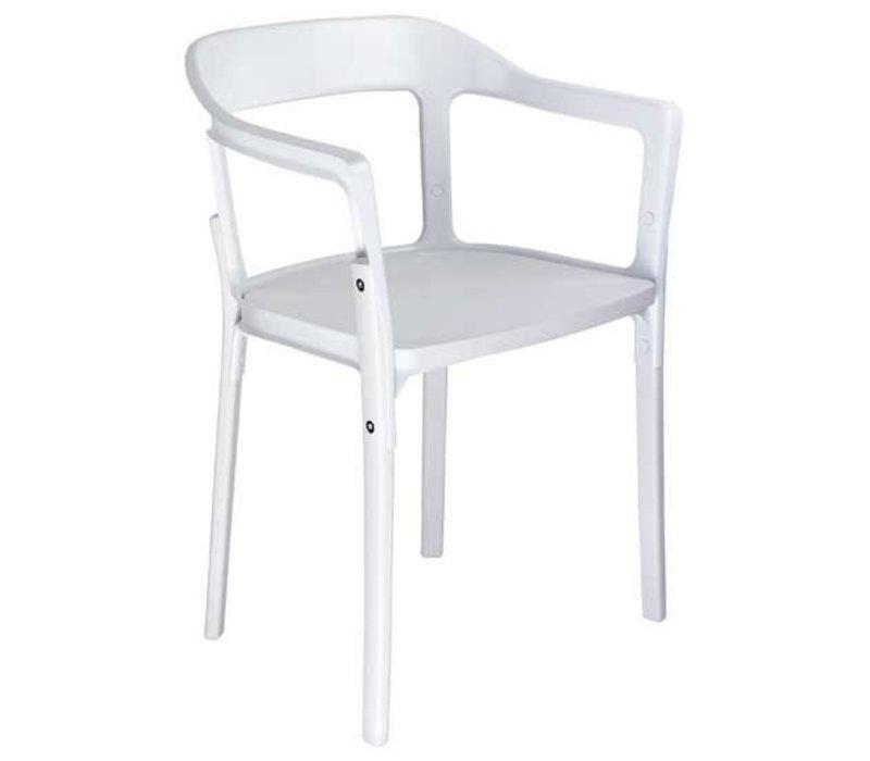 Steelwood stoel van Magis in hout