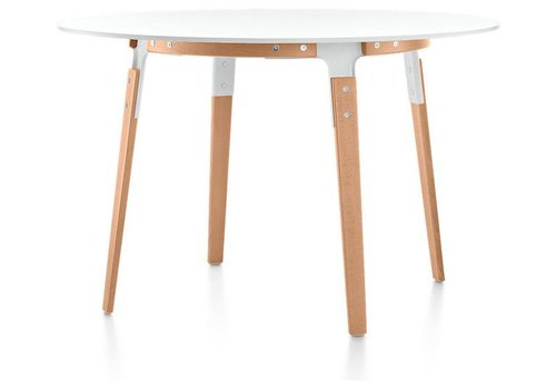 Magis Steelwood table - ronde tafel