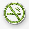 Green Mood Pictogram uit mos - No Smoking