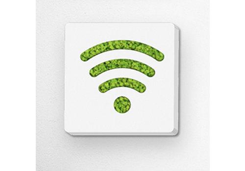 GreenOffice Pictogramme en mousse - Wifi