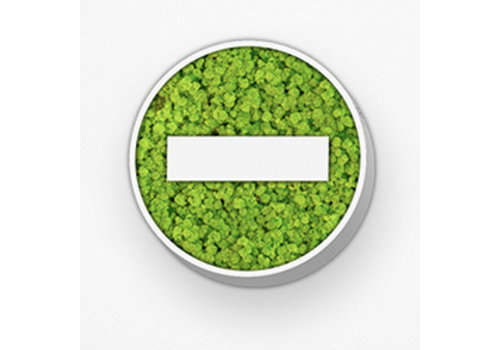 GreenOffice Pictogram uit mos - Stop