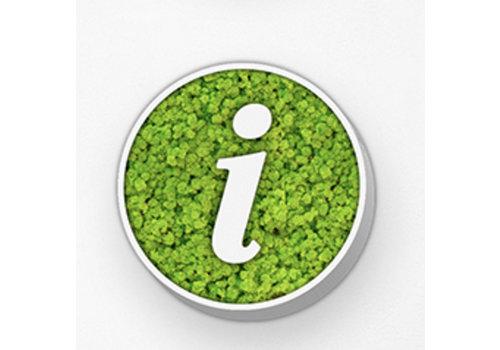 GreenOffice Pictogramme en mousse - Info circle