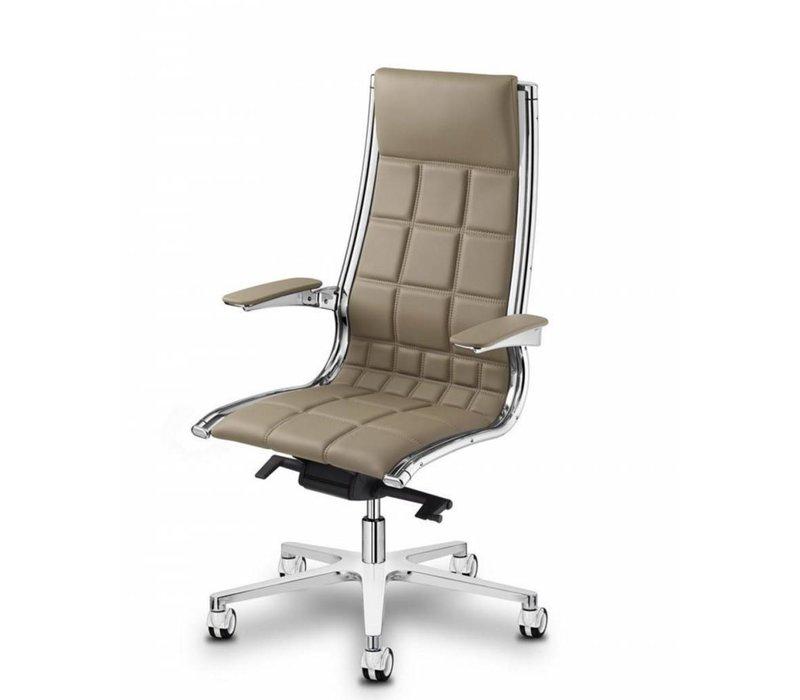 Sit On It directie bureaustoel - leder