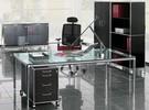 S-Line bureau of meetingtafel, vierkant 100cm