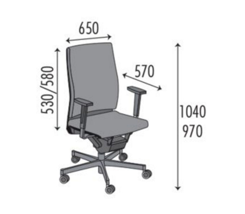 Ergo 04 siège de bureau ergonomique