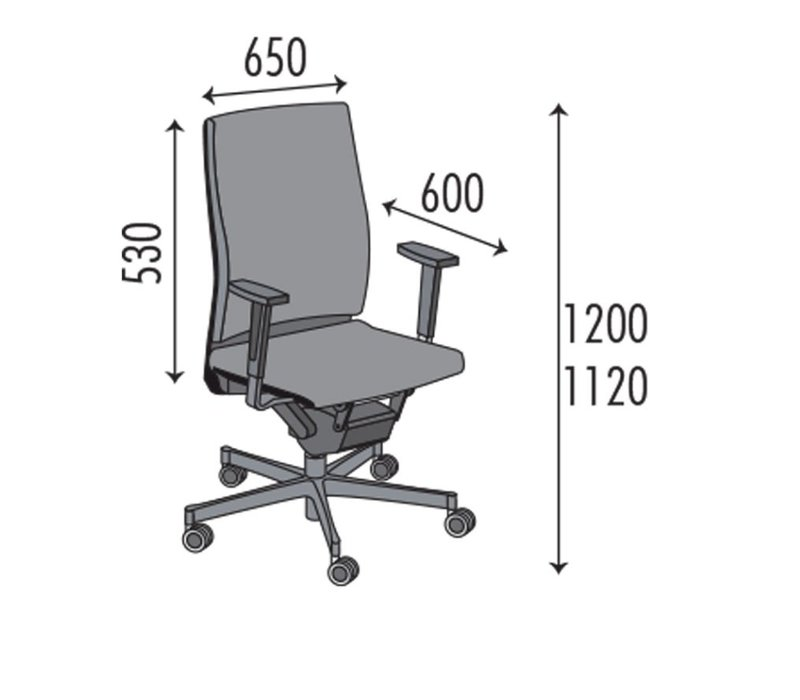 Stitch bureaustoel