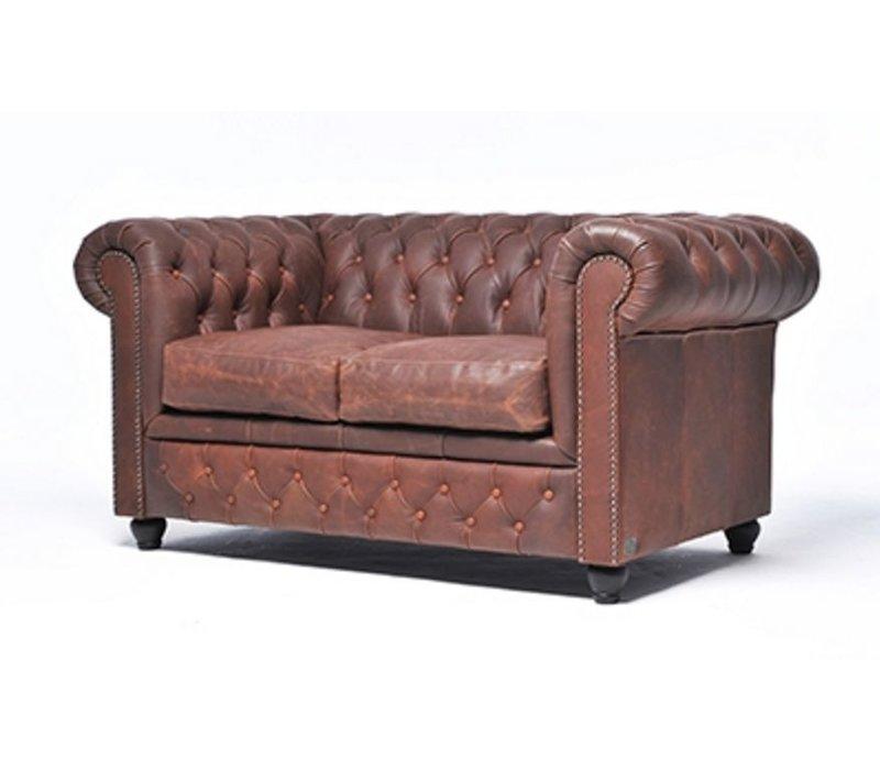 Vintage zetel 2 plaatsen
