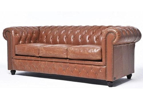 Chesterfield Vintage sofa 3-zit