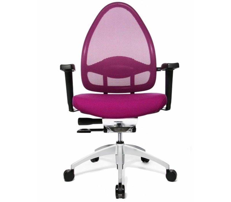 Open Base chaise de bureau avec accoudoirs