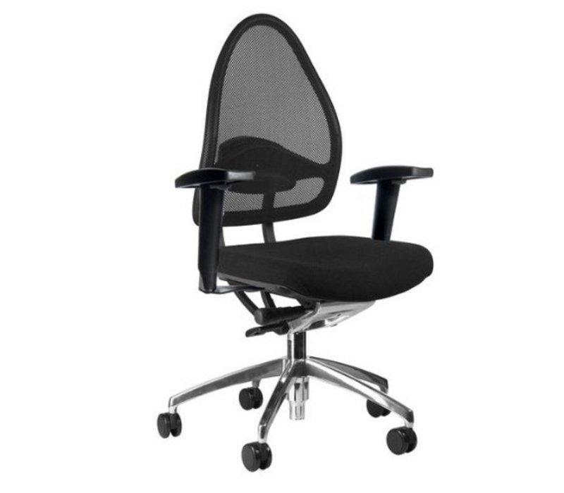 Open Base bureaustoel met armleuning