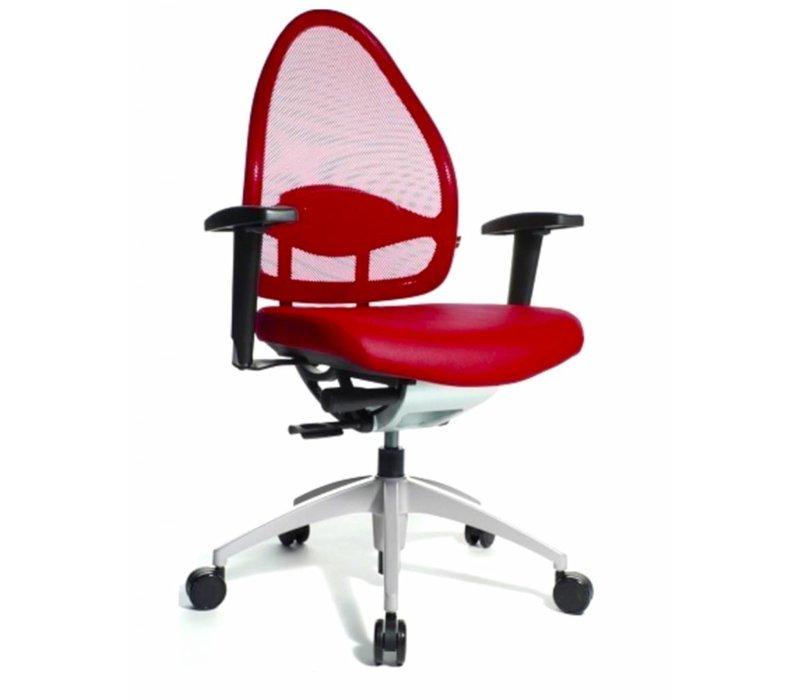 Open Base bureaustoel lederlook