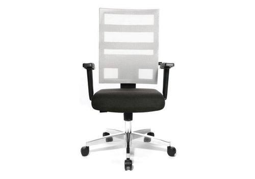 Topstar X-Pander bureaustoel Chroom voet