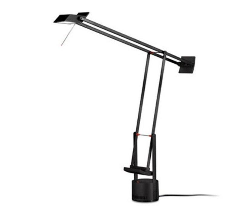 Lampe Artemide Classic NoirLed De Bureau Tizio SUMVqzpG
