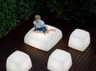 Lite box vloerlamp/zitkubus